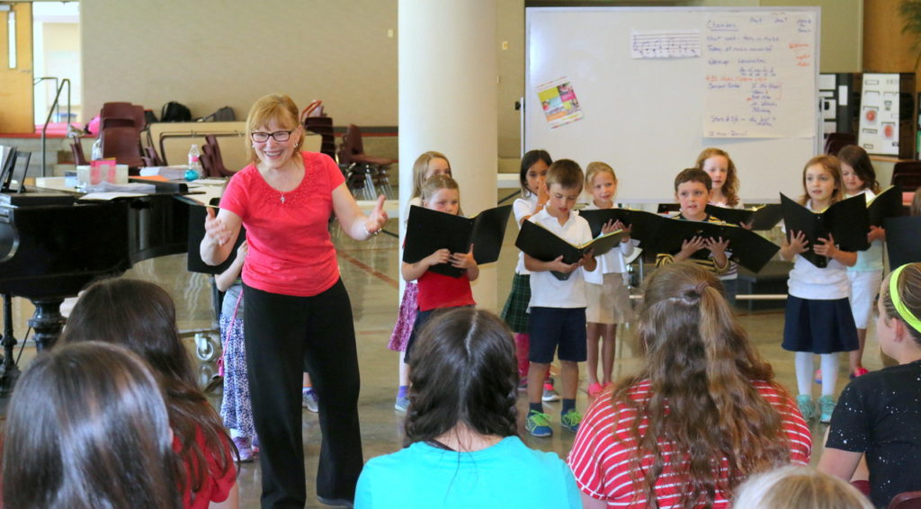 connie and choristers